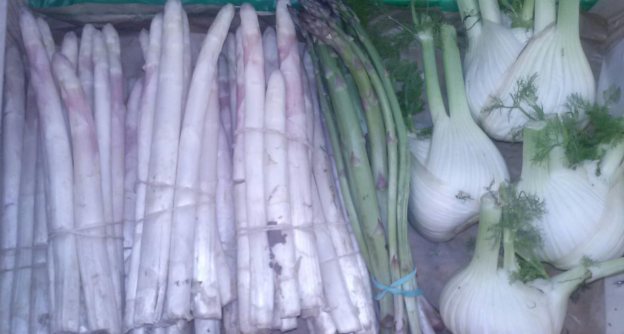 Calendario frutas y verduras. Abril
