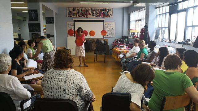 Charla-Taller en la Asociación Mujeres en la Diversidad. Julio 2019